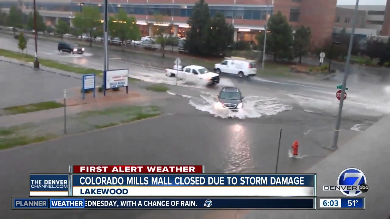Why is Colorado Mills reopening after a hailstorm when malls across ...