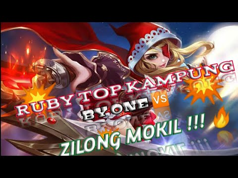 Mobile Legend LOL. Ruby vs Zilong