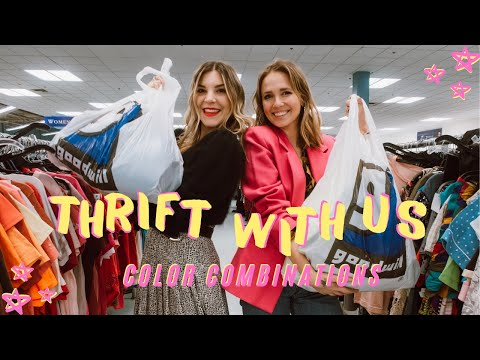 COME THRIFT WITH US || THRIFTING COLOR COMBINATIONS FT AMBER FROM RAGPEPPER