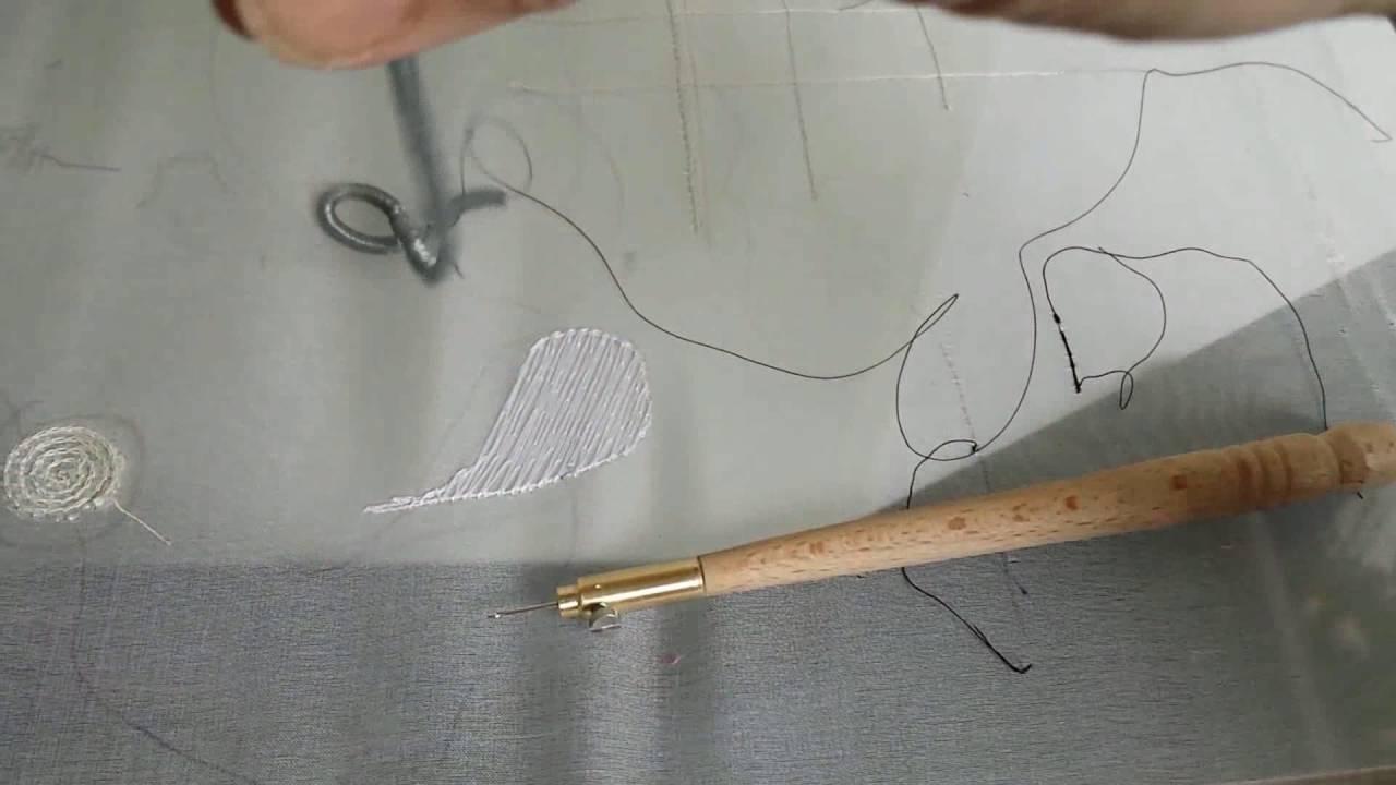 Wonderbaarlijk borduren met luneville naald dl 5 borduren van kralen en JI-18