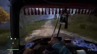 Far Cry 4 - Vehicle - Tuk Tuk Car Free Roam Gameplay (PC HD) [1080p]