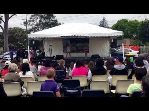 Grace Acro - School Fete 2014