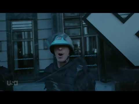 Mr. Robot Season 3 Rioters enter Ecorp