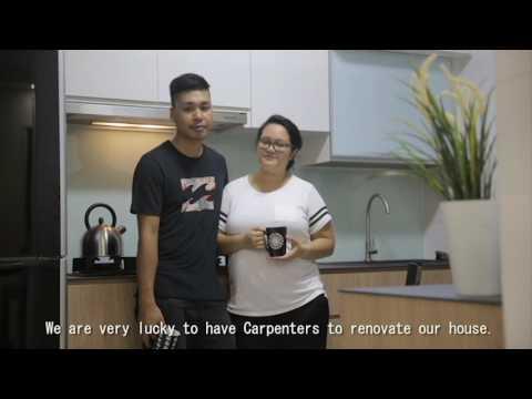 Carpenters HDB Keat Hong Close Testimonial (Azmil & Wana)