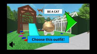 ROBLOX Chloe plays as a hamster