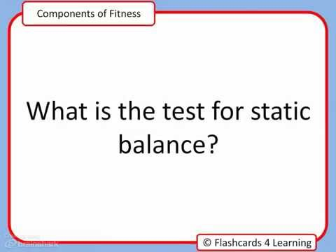 GCSE PE Components of Fitness Questions and Answers - YouTube - components of fitness