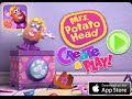 Mrs.  Potato Head - Create & Play Part 1 - Best iPad app demo for kids - Ellie