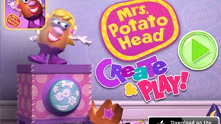 Mrs.  Potato Head - Create & Play Part 1 - Best iPad app demo for kids
