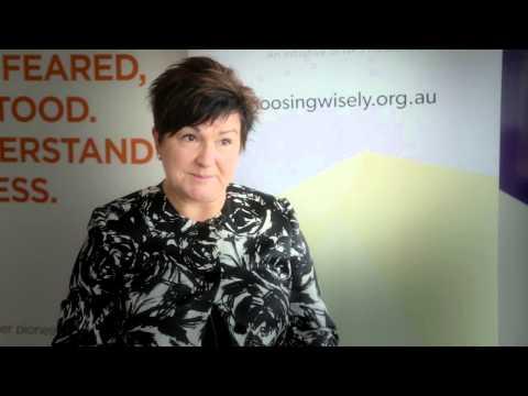 Choosing Wisely Australia launch: Leanne Wells