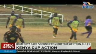 Homeboyz face second-from--bottom Western Bulls in Kenya Cup