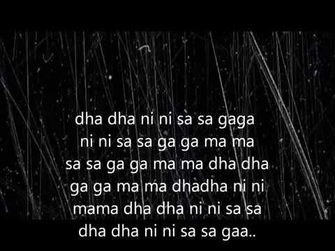 Mere dholna-Full lyric(sargam)+english translation.shreya&m.g. sreekumar.