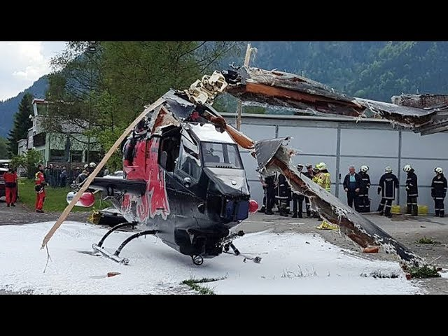 🚁🔥 Hubschrauber und Helikopter Unfälle Live Teil 1 - Helicopter Accident Live