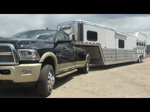 2013 Ram 3500 heavy duty pickup takes on the Ike Gauntlet ...