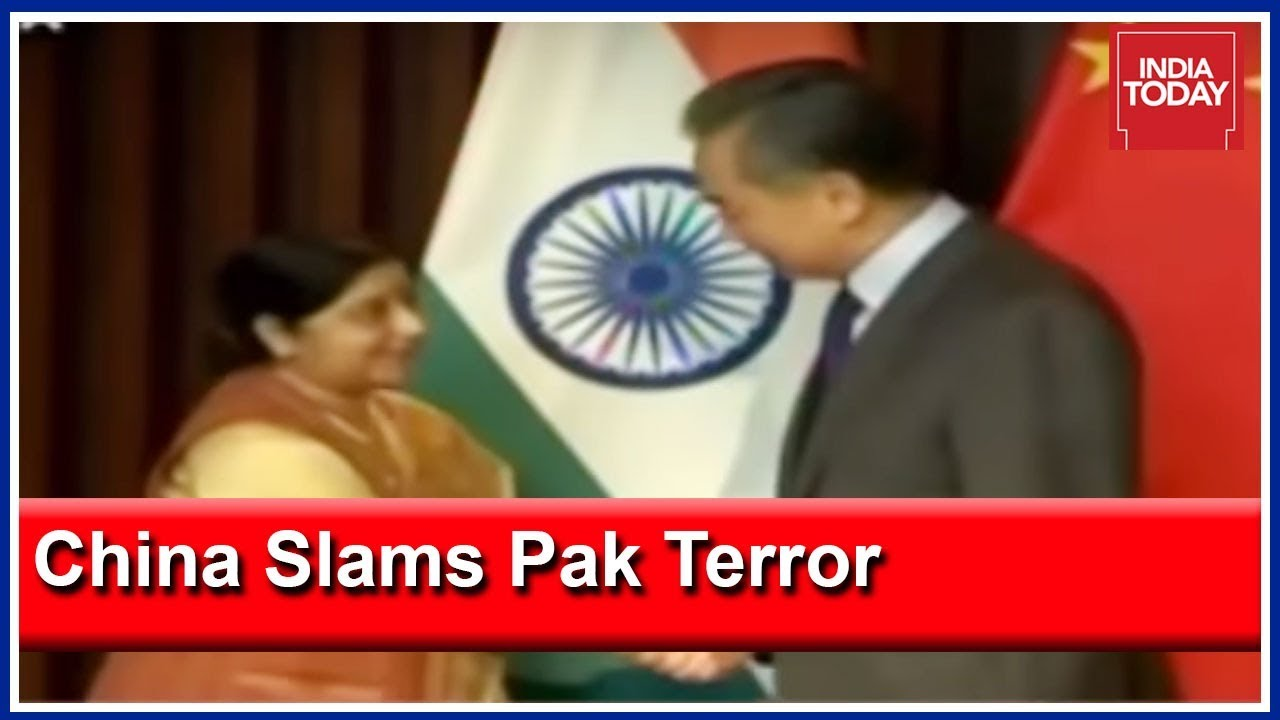 Pakistan's Biggest Ally, China, Calls Out Pakistan's Terror Duplicity