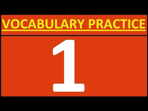 ENGLISH VOCABULARY PRACTICE 1 VOCABULARY WORDS ENGLISH LEARN WITH MEANING OPPOSITE WORDS IN ENGLISH