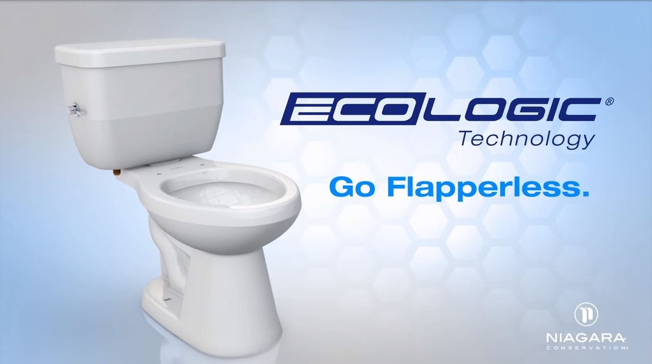 Ecologic Toilet Flush Technology - by Niagara Conservation - YouTube