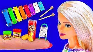 16 DIY Barbie Hacks Mini Lego, Play Doh, Pringles, Glockenspiel and more