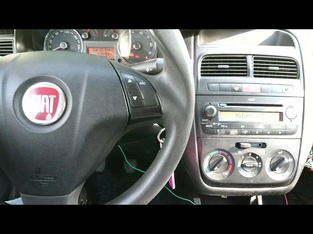 Fiat Linea Aux modülü direksiyondan şarkı değiştirme 2