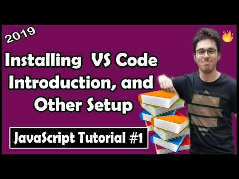 Installing VS Code, Extensions & Setup | JavaScript Tutorial In Hindi #1 thumbnail