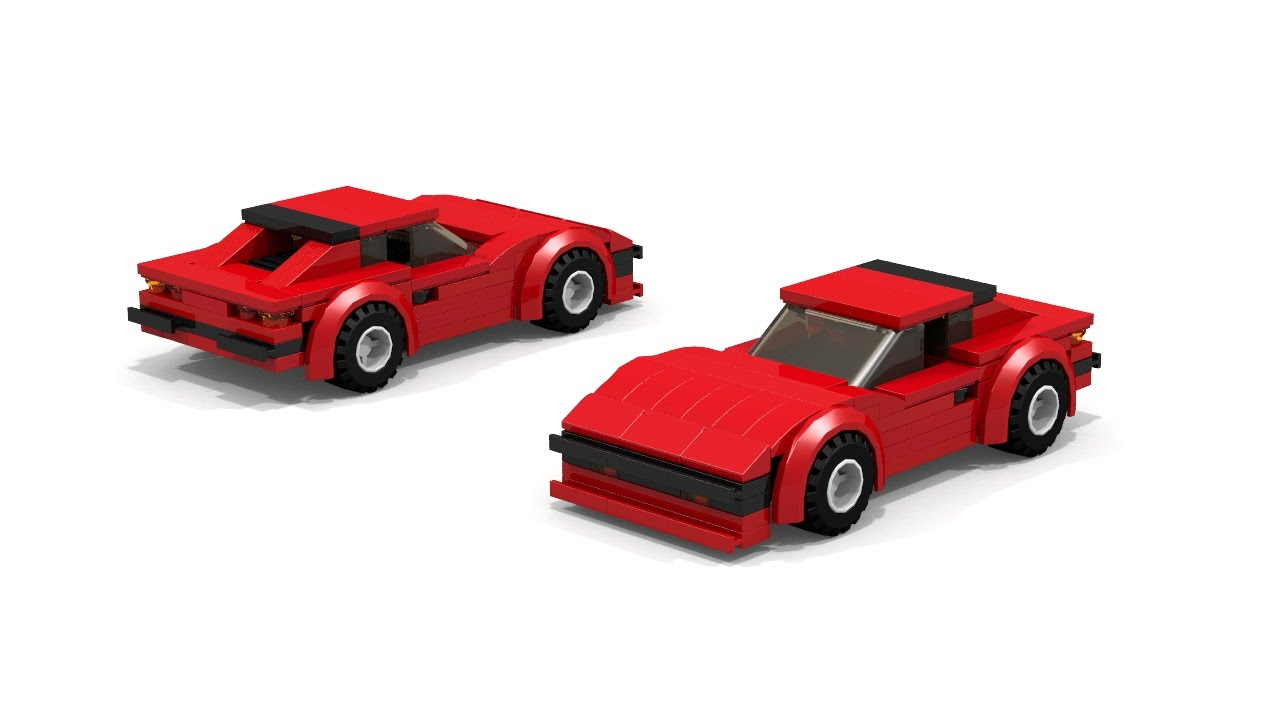 Lego Ferrari 208 Moc Instructions Youtube