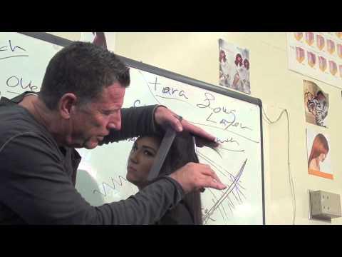 Haircut:Long soft layers scissor haircut