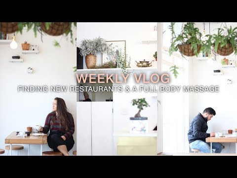 WEEKLY VLOG   |   MASSAGE AT LUME BEAUTY & TRYING NEW CAPE TOWN RESTAURANTS   |   LeChelle Taylor