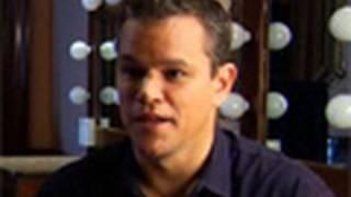 Matt Damon, Howard Zinn: TCA