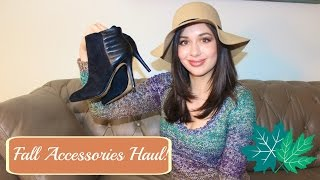 fall accessories haul boots shoes and hats