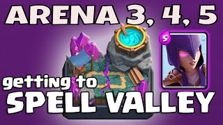 WITCH DECK for ARENA 3, 4, 5 | Clash Royale | WITCH is OP!!!!