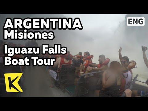 【K】Argentina Travel-Misiones[아르헨티나 여행-미시오네스]이구아수 폭포 보트투어/Iguazu Falls/Boat Tour/Jungle truck
