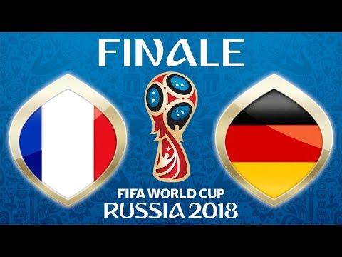 Fussball WM 2018 · FINALE · Frankreich - Deutschland (nicht Kroatien