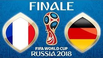 Fussball WM 2018 · FINALE · Frankreich - Deutschland (nicht Kroatien 😜) · 15.07.2018 ·  Moskau · #64
