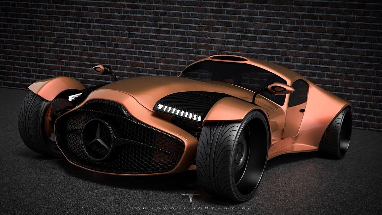 Mercedes Benz Supercar Concept Youtube