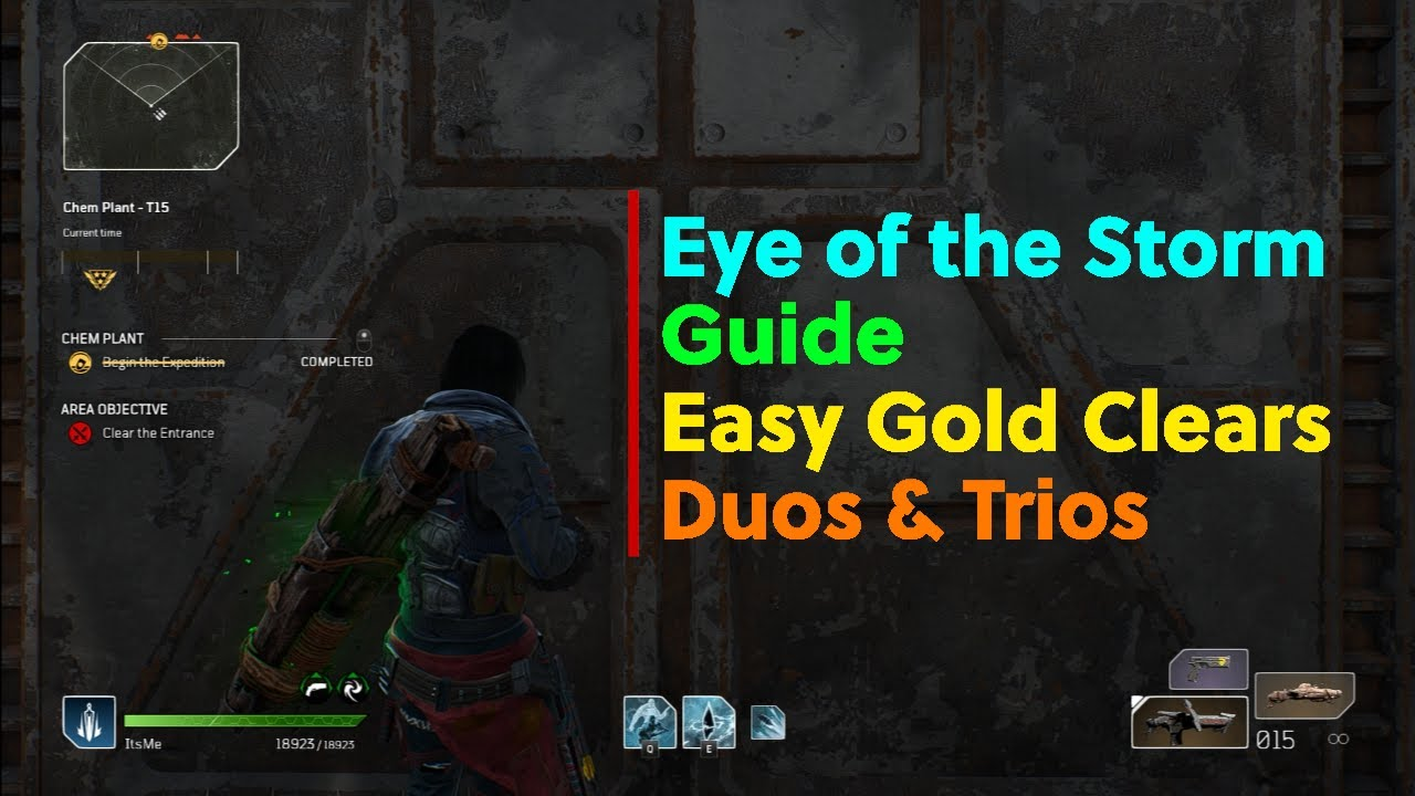 EYE OF THE STORM GUIDE | EASY GOLD CLEARS | DUOS & TRIOS | Outriders