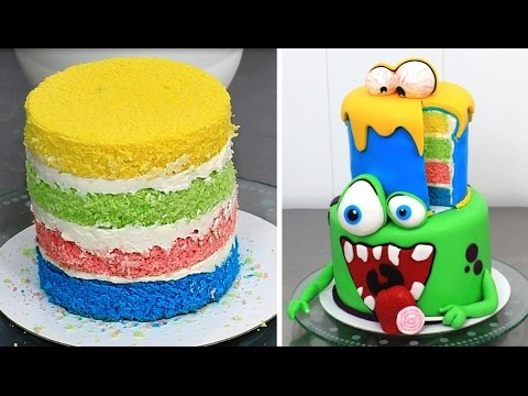 Funny Monsters Cake How To Make By Cakes Stepbystep