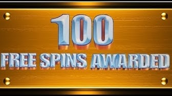 ** $3 MAX BET ** 100 FREE SPINS - WMS SLOT MACHINE