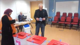 2014-02-15 - Saleh Burwais First to vote in Ireland for Libyan constitution assembly