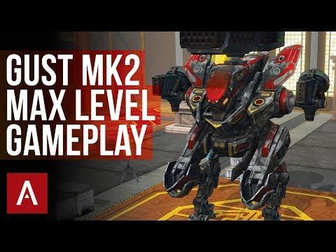 War Robots: GUST MK2 MAX LEVEL GAMEPLAY | live stream