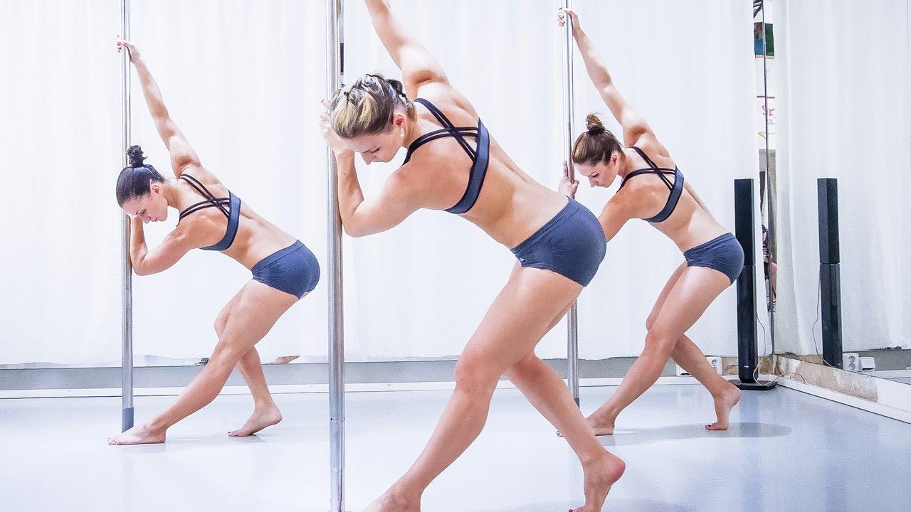 Pole Fitness Workout Inspiration Vol 4 Level 3 Youtube Pole Fitness Dance Workout Pole Dancing