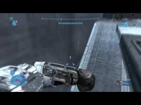 4 k in assassination lobby   Halo:Reach short clip