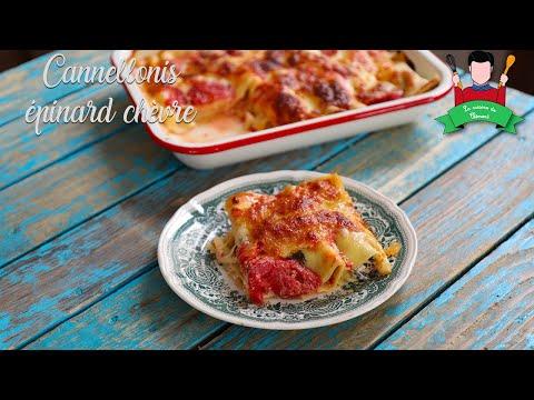 recette-des-cannellonis-épinard-et-ricotta
