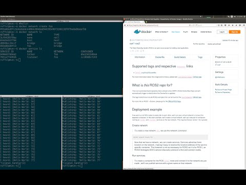 ROS2 + Docker Demo by Ruffin White on YouTube