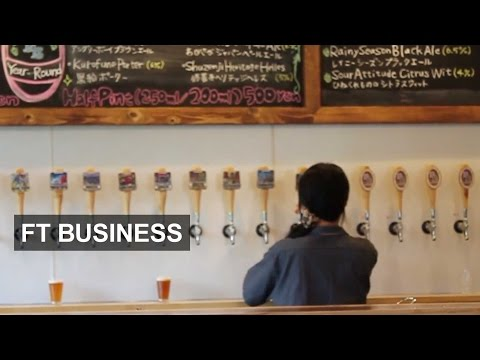 Japanese craft beer grows in popularity | FT Business