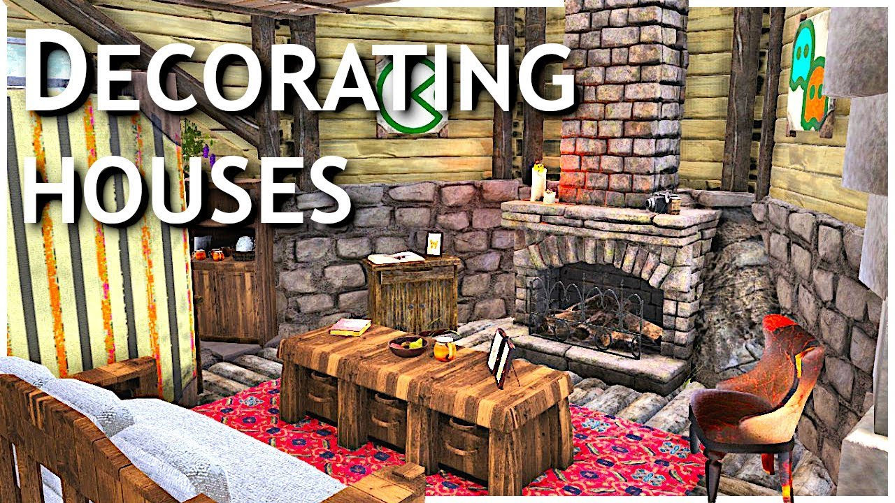 How To Decorate A House In Ark Ark Survival Evolved Island Geeks Ep 2 Youtube