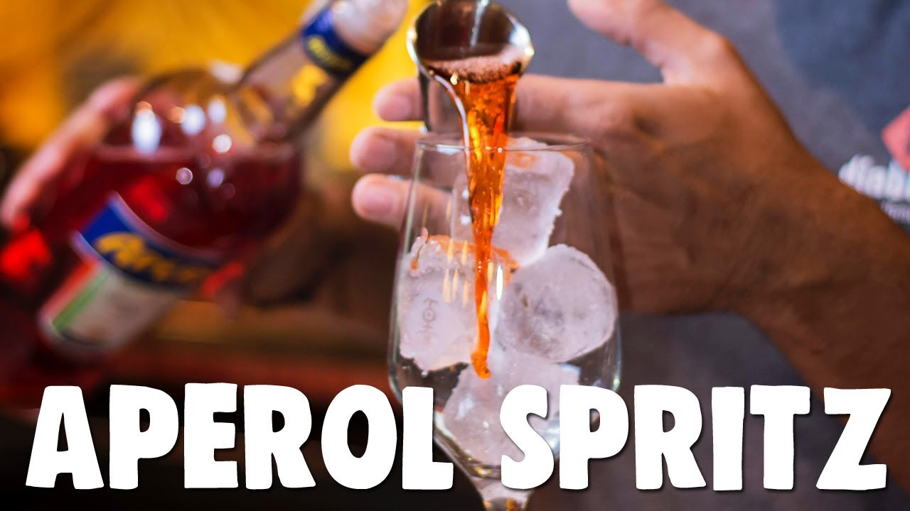 Is this the Best APEROL SPRITZ Recipe Ever!?