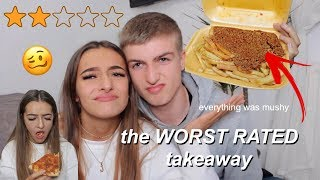 One of Amy Menzies's most viewed videos: Trying the WORST RATED Takeaway | Amy Menzies