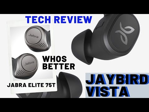 Jaybird Vista Unboxing & Review.  Jaybird Vista Vs Jabra Elite 75T - Wireless Earbuds for the gym