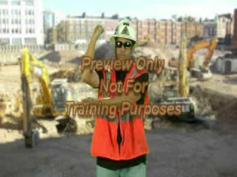 Crane Safety - Hand Signals