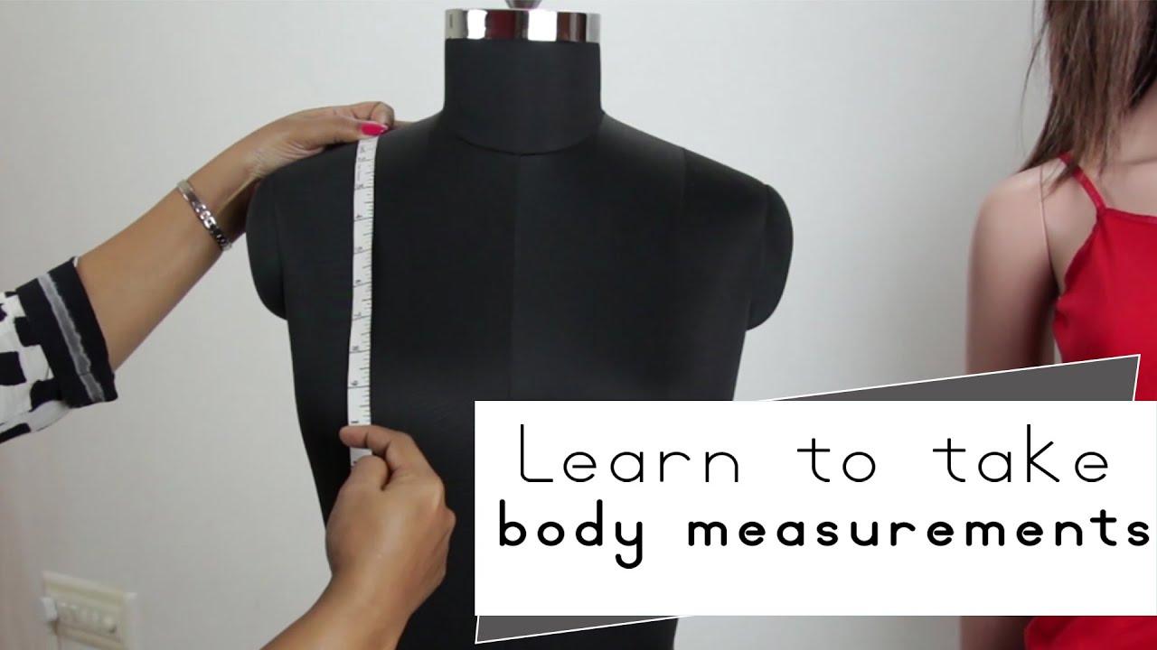 Lesson 1 - How to take body measurements for womens kurti  dress ... 71fb9135b