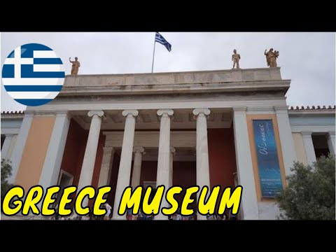 National Archaeological Museum Athens travel vacation tour holiday video Greece